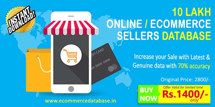 2019 UPDATED ONLINE SELLERS DATABASE, ALL INDIA CITYWISE
